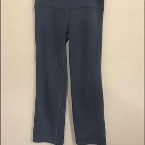 Athleta Size Small Gray Fleece Lined Pants
